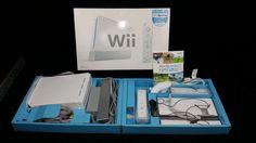 Nintendo Wii Console, 2 Controllers, Wii Sports, Original Box #Nintendo