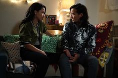 """#TheFosters 4x04 """"Now for Then"""" - Mariana and Mat"""