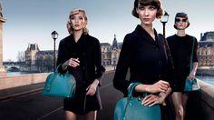 """""""Chic on the Bridge"""" ist der vielversprechende Titel der neuesten Kampagne von Louis Vuitton."""