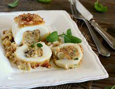 Le seppie ripiene in padella al vino bianco, sono un secondo piatto davvero delizioso da poter gustare sia caldo che freddo!