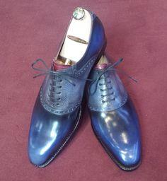 Septieme Largeur Saddle Shoe Patina