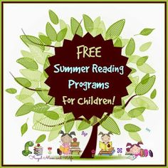 Frugal Mom and Wife: FREE Summer Reading Programs For Children! Free Summer, Summer Fun, Totally Free Stuff, Summer Reading Program, Cool Kids, Kids Fun, Learning Tools, Outdoor Fun, Programming