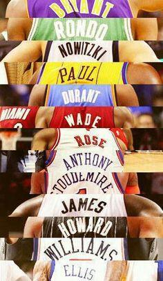 all of my fav. basketball players