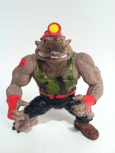 Teenage Mutant Ninja Turtles  Playmates 'Dirtbag' 1991 TMNT Action Figure