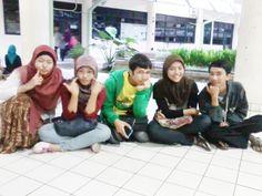 Campus life, Bogor, 2012.