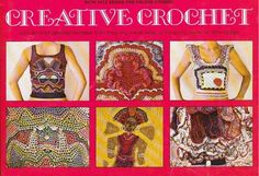 7 Must-Find #Vintage #Crochet Books: Creative Crochet