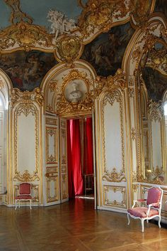 Details, details...Salon ovale de la princesse, Hôtel de Soubise, Paris, photo by jonfholl via Flickr.