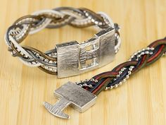 Free Ideas: Artbeads.com - Katie's Braided Bracelets