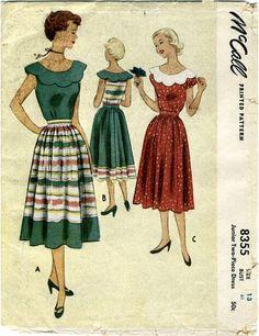 McCall 8355 blouse & skirt