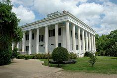 Greenwood, an antebellum plantation, circa 1830, Louisiana