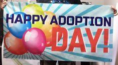 #custombanner #customvinylbanner 2'x6' Printed Banner Custom Banner Custom Sign | Etsy Adoption Day, Custom Vinyl Banners, Banner Printing, Manners, Custom Items, Service Design, Latex, Birthday, Prints