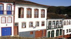 Ouro Preto, Minas Gerais - Brasil  Casarios