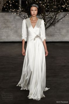 Best wedding gowns with sleeves jenny packham Ideas Jenny Packham Wedding Dresses, Jenny Packham Bridal, Wedding Gowns With Sleeves, Wedding Dresses 2014, Colored Wedding Dresses, Wedding Bridesmaid Dresses, Bridal Dresses, Dresses With Sleeves, Dress Wedding