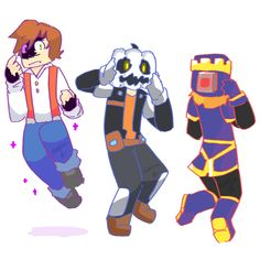 """""""Ooooh!! Thank you, host! If you make the tea, I'll be there"""" Minecraft (c) Mojang Minecraft Story Mode (c) Telltale Games"""