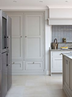 Large Kitchen Pantry Cabinet Exterior Shaker Style Cabinets Hand Painted In Lead V Shaker Style Kitchen Cabinets Shaker Style Cabinets Shaker Kitchen Design