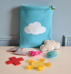 petit sac à émotions : colère, tristesse, joie, amour, mauvaise humeur... : Jeux, jouets par bykiki