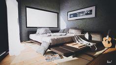 Bedroom rendering - artlantis rendering