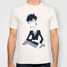 Rowland S. Howard T-shirt by AnaMF - $22.00
