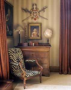 Jean Louis Deniot (all but the chair and globe for me!)