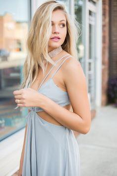 Stonecold Maxi Dress – Swoon Boutique