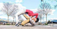 Happy international Kissing Day 💋 @noemi.font . #internationalkissingday #couple #love #fitness #fit #ioga #acroyoga #yoga #pilates #spring #kiss
