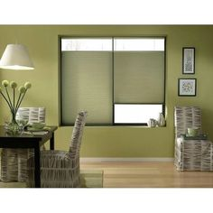 Bay Leaf 20 to 20.5-inch Wide Cordless Top Down Bottom Up Cellular Shades (20W x 80H Bay Leaf), Green (Polyester)