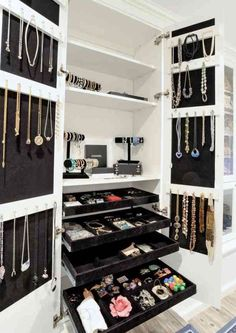 Closet Space/Jewelry Display