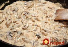 Ak hľadáte tip na bleskový obed, prinášame vám skvelú krémovú omáčku z hríbov. Skvele sa hodí k cestovinám, alebo ako doplnok k mäsku. Jej príprava vám zaberiem pár minút! Korean Diet, Russian Recipes, Mashed Potatoes, Oatmeal, Stuffed Mushrooms, Food And Drink, Cooking Recipes, Sweets, Bread