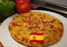 A spanyol burgonyás omlett azaz Tortilla-inspiráció Cocina con Celi konyhájából Chorizo, Quiche, Dairy, Cheese, Breakfast, Cook Books, Advent, Food, Recipes