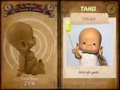 *Find your ZEN with TAHU TOFUKO* ~by Charles' Creature Cabinet (NL) **NEW Species: Gnole**  TAHU Gnole 12 cm anthro Tiny (Chunky) BJD A Charles' Creature Cabinet Creation  Gnole (Woodling gnome x mole)  Pre-Order NOW to be sure you get your color choice resverved! TAHU comes in colors- Sand and Tan Don't Miss Out!  www.charlescreaturecabinet.net