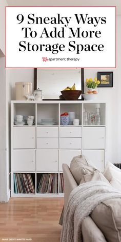 Apartment Living, York Apartment, Apartment Ideas, Apartment Therapy, Living Room, Small Space Storage, Storage Spaces, Couple Bedroom, Life Coaching