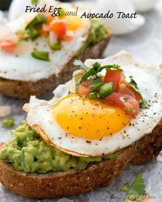 Fried Egg and Avocado Toast. Fried Egg and Avocado Toast that will satisfy you for breakfast, lunch, or dinner. Fried Egg and Avocado Toast is quick, healthy and easy.