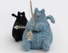 Handmade #cat tOy & plushie idea~