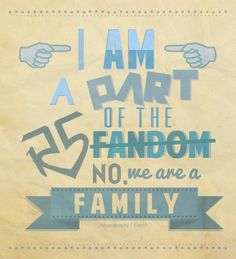 Being a true family is definitely important!
