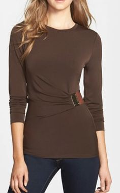logo plate trim jersey top @nordstrom  http://rstyle.me/n/rdpmapdpe