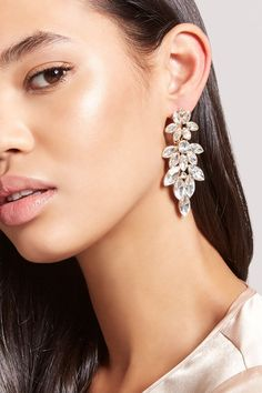 Product Name:Rhinestone Chandelier Earrings, Category:ACC, Price:7.9