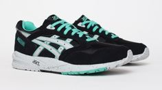 Asics Gel Saga - Black / Green