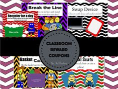 Reward coupons make for a much easier reward system!