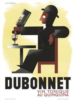 Cassandre Dubonnet poster