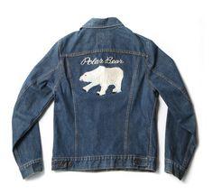 """vintage """"polar bear"""" jacket"""