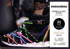 DSQUARED2 SS16 WOMEN MEN SHOES available for an order at Myriam Volterra Luxury Buying Office! Contact us by phone, email, Skype or visit our office in Milan and we provide you with all the necessary information! http://www.luxuryitalianbrands.com