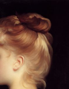 detailsofpaintings:  Frederic Leighton, A Girl (detail) 19th  century