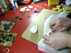 Abbellimenti scrap con pasta siliconica homemade