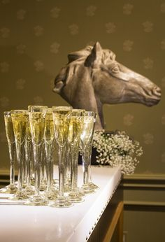 """Jan Barboglio """"Champagne Flutes""""… ....toasting...all occasions, grand and low key. @jdouglas"""
