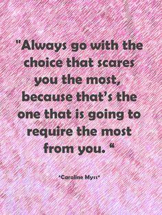 Wise words from teacher Carolyn Myss.  Posted by Seattle Wedding Officiant Annemarie Juhlian
