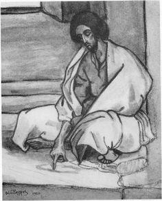 Φώτης Κόντογλου,Fotis Kontoglou Greek Islands, Modern Art, Drawings, Artwork, Painting, Cyprus, Artists, Life, Greek Isles