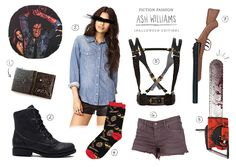 Fiction Fashion - Ash Williams | Evil Dead (by STUCK WITH PINS)... the basics.