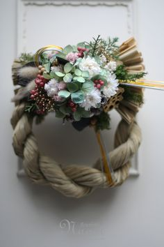 Japanese New Year wreath 2013