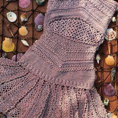 Madre Perola color dress for today #VanessaMontoroCrochet #VanessaMontoroStyle…