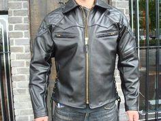 "Langlitz Leather's ""Sidewinder"" jacket."